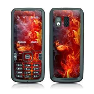 Flower Of Fire Design Protective Skin Decal Sticker for