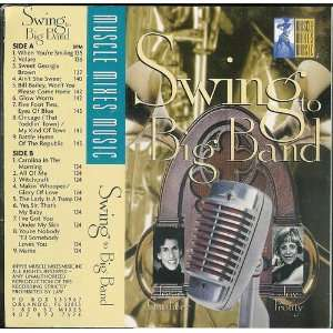 Swing To Big Band Muscle Mixes Cassette Tape 1998 Josie Gardiner Joy