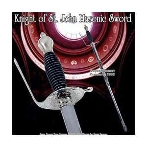 33  Crusader Templar Knight of St. John Masonic Sword