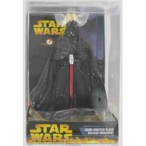 Star Wars Darth Vader Hand Crafted Glass Ornament Toys & Games