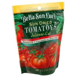 California Sun Dry Sun Dried Tomatoes (Julienne Cut), 3 Ounce Pouches