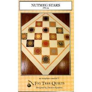 Nutmeg Stars (Quilt Pattern) (Fig Tree Quilts, #FTQ 303