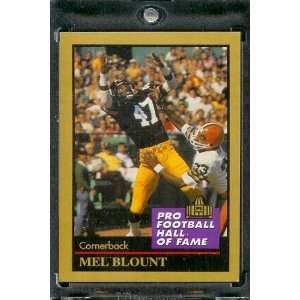 1991 ENOR Mel Blount Football Hall of Fame Card #15   Mint