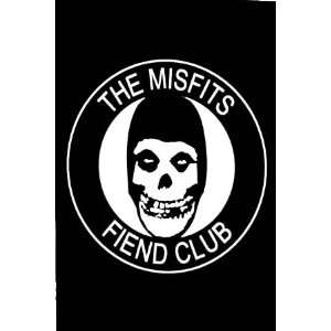 Misfits Fiend Club Giant Subway Poster 40 x 60 Aprox