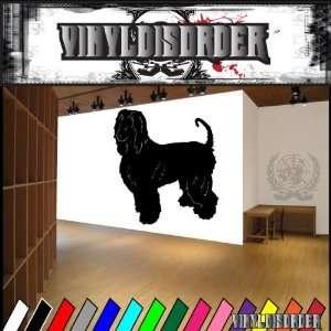 Dogs hound afghan hound 2 Vinyl Decal Wall Art Sticker