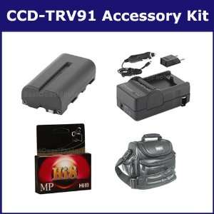 Sony CCD TRV91 Camcorder Accessory Kit includes HI8TAPE