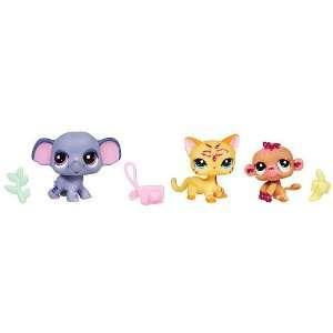 Littlest Pet Shop Wild Animal Sparkle 3 Pack Toys & Games