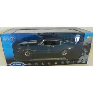 Welly 1/18 Scale Diecast 1970 Chevrolet Chevelle Ss 454 in