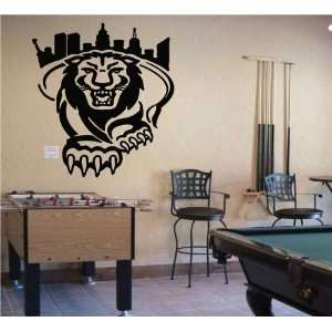 Ncaa Wall Mural Vinyl Sticker Sports Logo Columbia Lions (S163