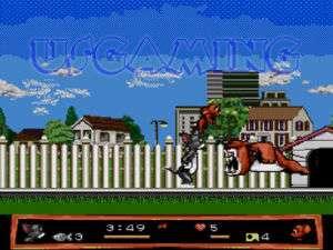 Sega Genesis 2 Player Game TOM & JERRY FRANTIC ANTICS 087855000430