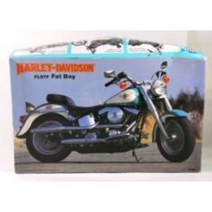 Harley Davidson FLSTF Fat Boy 1/12 Scale Model Kit   Imai