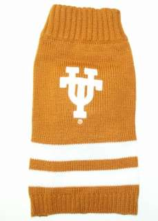 Texas Longhorns Official NCAA Sweater for Dogs