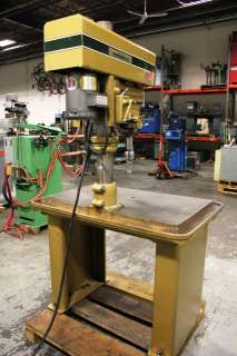 20 Variable Speed Drill Press with Production Table (New 1987)