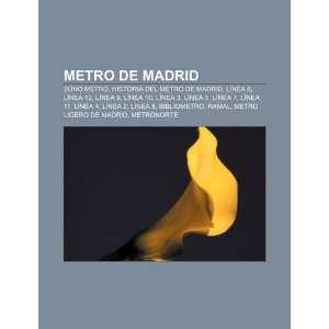 Metro de Madrid Búho Metro, Historia del Metro de Madrid