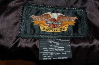 Harley Davidson Leather Jacket 100th Anniversary CENTENNIAL Huge