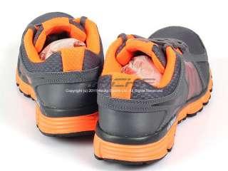 Nike Dual Fusion ST 2 (GS) Dark Grey/Black Total Orange Youth Running