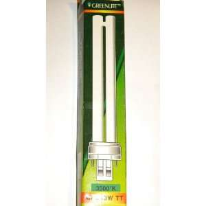 Greenlite Compact Fluorescent Lamp Gx23 cap 2 pin plug in