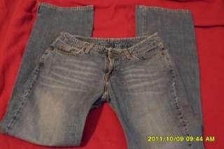 LUCKY Brand wide leg, medium reg length jeans 2/26 with slits on the
