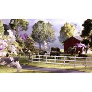 Scenics HO Scenic Accents(TM)   Black Angus Cows Toys & Games