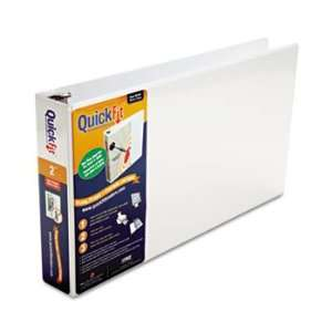Ledger D Ring Binder, 2 Capacity, 11 x 17, White STW94030: Electronics