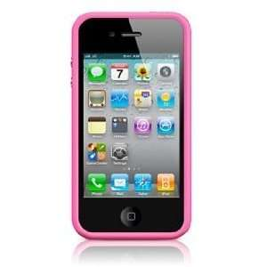 Pink Premium Bumper Case for Apple iPhone 4S / 4   (AT&T