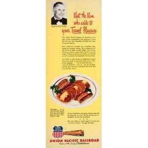 1950 Ad Union Pacific Railroad Streamliners Jack Harris