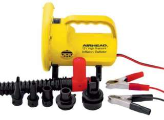 New Airhead High Pressure 12 Volt Air Pump for Inflatable Towables