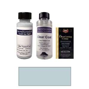 2 Oz. Polar Blue Silver Metallic Paint Bottle Kit for 2007