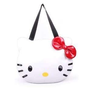 Cute White Hello Kitty Face Style Tote Bag/Handbag