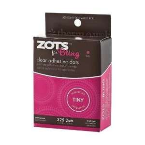Therm O Web Zots For Tiny Bling Clear Adhesive Dots; 4