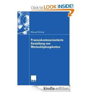 ) Manuel Schulze, Prof. Dr. Stefan Seuring  Kindle Store