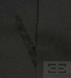 Burberry Black High Waist Belted Pencil Skirt Size 10
