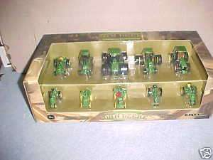 JOHN DEERE 10 PC 200th BIRTHDAY HISTORICAL SET 1/64
