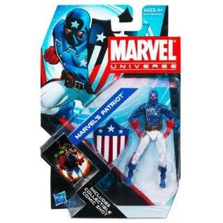 Marvel Universe 3 3/4 Inch Series 17 Action Figure Patriot