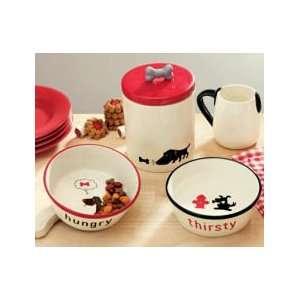 Dog Food & Water Bowl S/2
