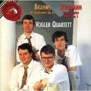 String Quartet 3 Brahms, Vogler Quartet Music