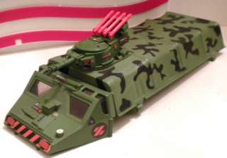 GI JOE ~ Z FORCE ~ UK EXCLUSIVE ~ ARMOURED TROOP CARRIER CANOPY ~ A.P