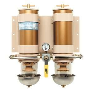 Racor 751000MAX2 Max Dual Fuel Filter/Water Separator