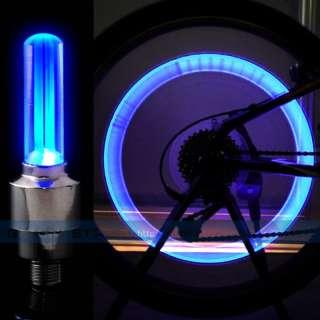 Cycling Motor Car Tire Spoke Wheel Alarm LED Light Lamp