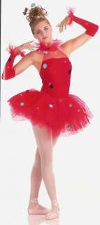 CIRQUE Tutu w/MITTS Ballet Dance Costume GROUP&SzCHOICE