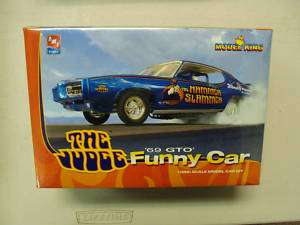 25 69 GTO The Judge Funny Car AMT/Model King 21819