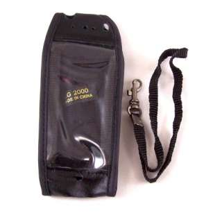 New Black Leather Cell Phone Pouch Cover Case for LG F9100 2000 PM325