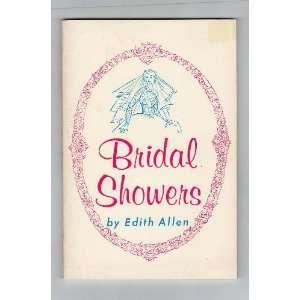 Bridal showers Edith Allen Books