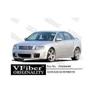 Audi A4 02 04 4dr VFiber FRP TypeR 4pc Body Kit