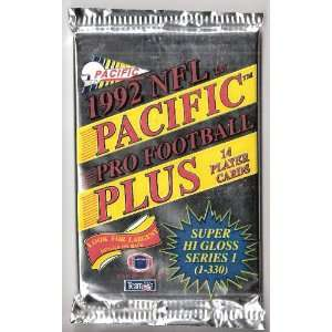Pacific Plus NFL National Football League Player Cards 1 Unopened pack