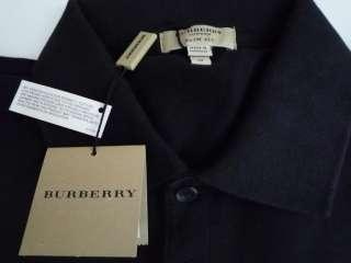 NWT 100% Authentic Burberry Mens Slim Fit Pique T Shirt Sz M $145