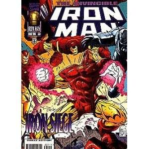 Invincible Iron Man (1968 series) #331 Marvel Books