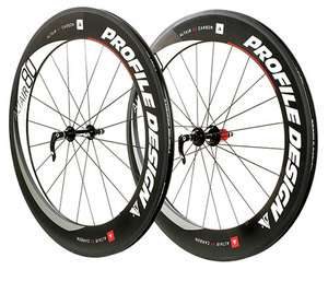 Profile Design Altair 80 Full Carbon Clincher Wheel Set