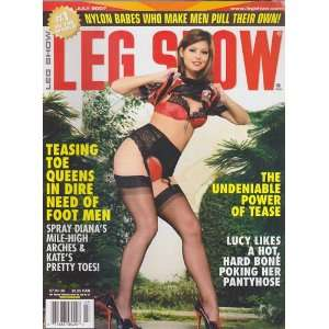 July 2007 Leg Show Magazine: Dian Hanson: Books