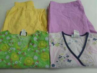 Vet Nurse Medical Dental Scrubs Lot 8 Outfits Sets Small S STRAWBERRY